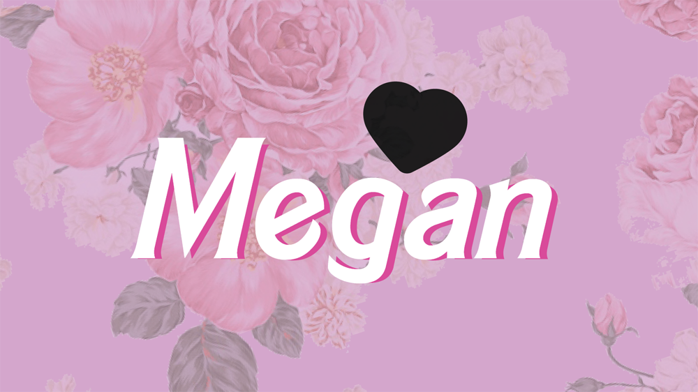 Megan Barbie graphic